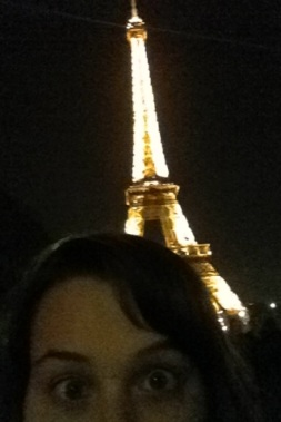Holy Crap, I'm at the Eiffel Tower!